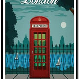 Vintage London - Diamond Painting Kit