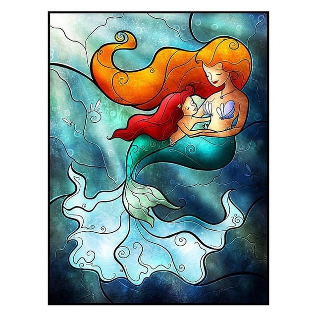 Mermaid - Diamond Painting Kit