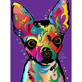 Colorful Chihuahua Dog - Diamond Painting Kit
