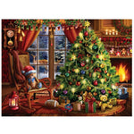 Indoor Christmas Tree - Diamond Painting Kit