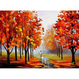 Autumn Tree Diamond Painting Kit