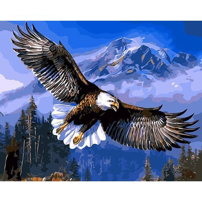 Flying Eagle - Paint By Number Kit