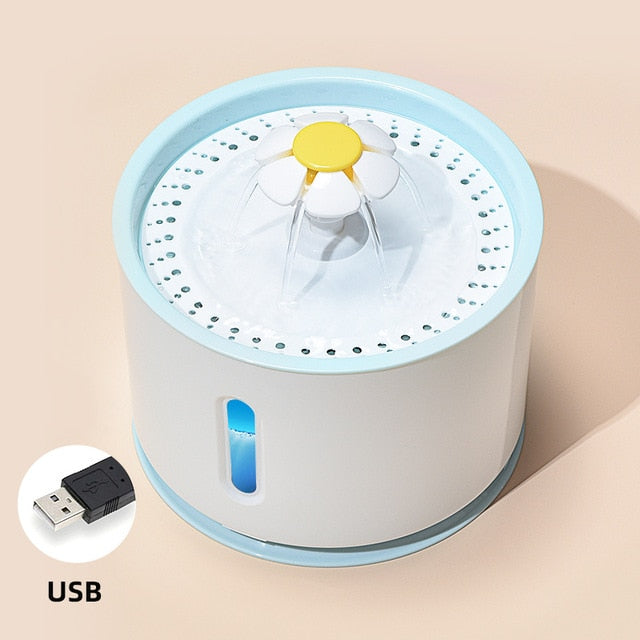 Pet USB Automatic Water Fountain Dispenser