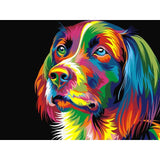 Pop Art Dog - Diamond Painting Kit