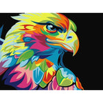 Pop Art Eagle - Diamond Painting Kit