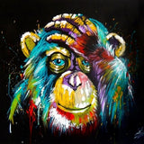 Pop Art Monkey - Diamond Painting Kit