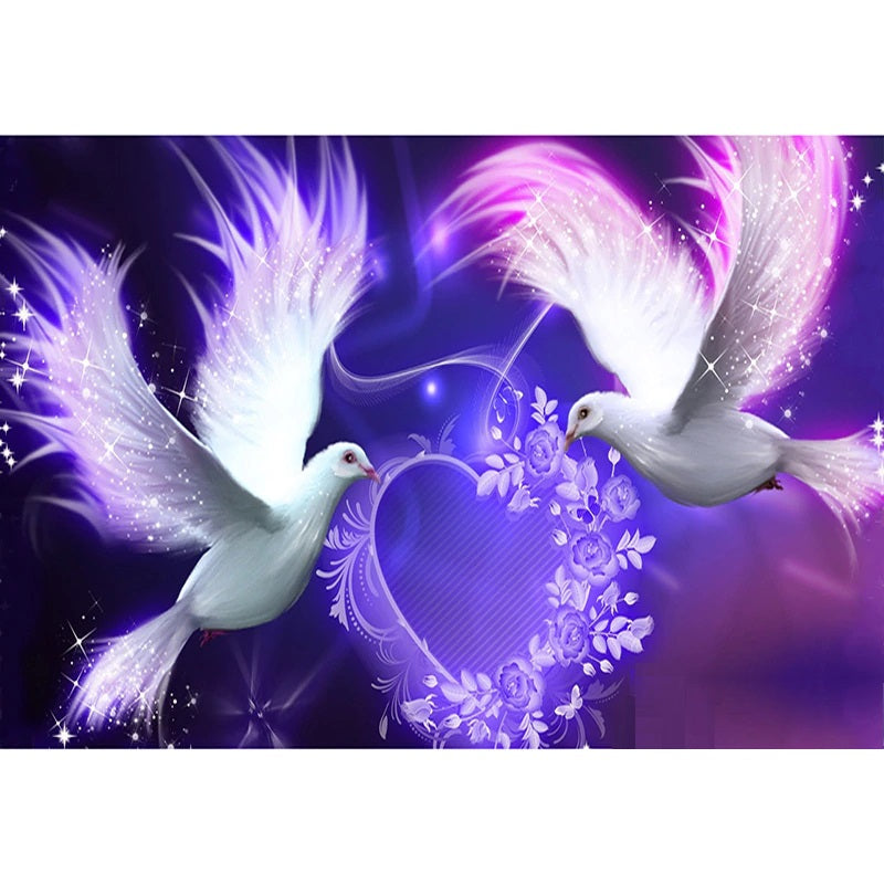 Dove Love - Diamond Painting Kit