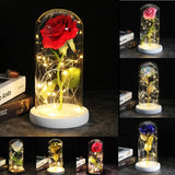 Dazzle - Rose In A Glass Dome Lamp