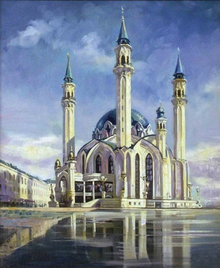 Artistic Mosque - Diamond Painting Kit
