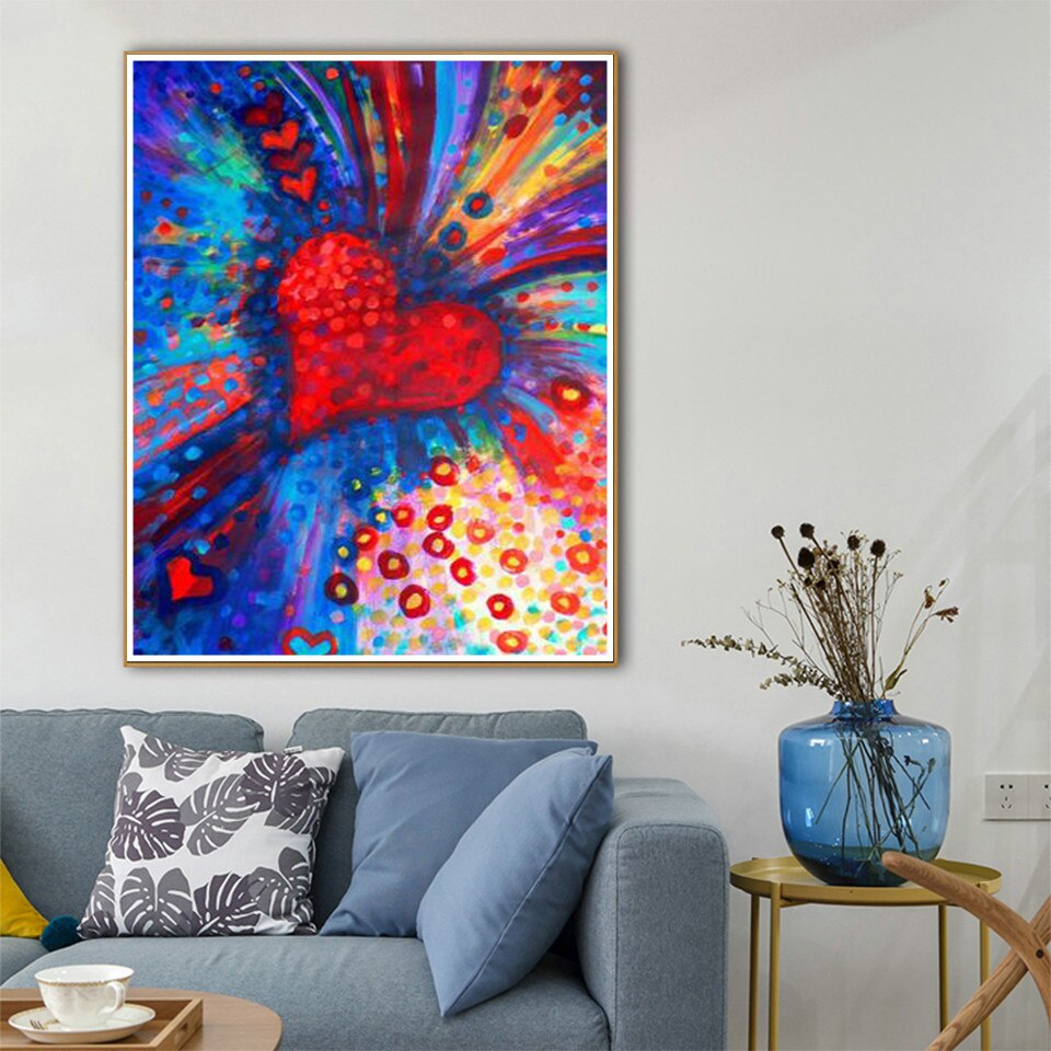 Heart Spark - Diamond Painting Kit