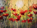 Poppy Glamor - Diamond Painting Kit