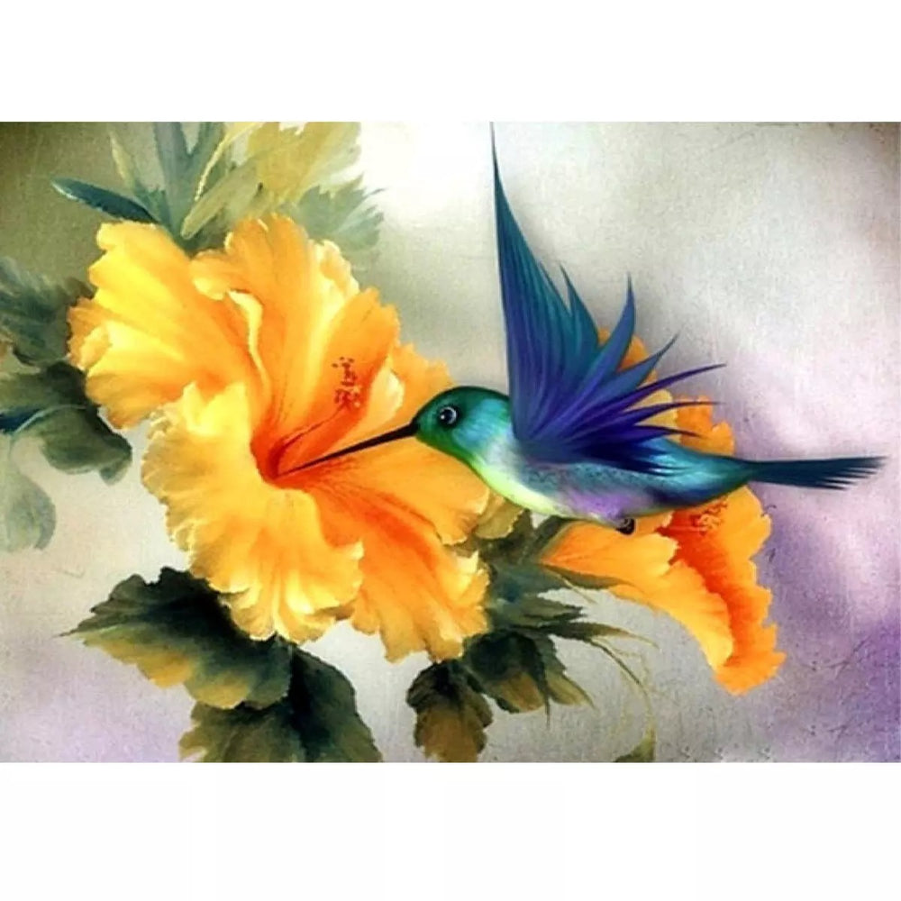 Hummingbird - Diamond Painting Kit