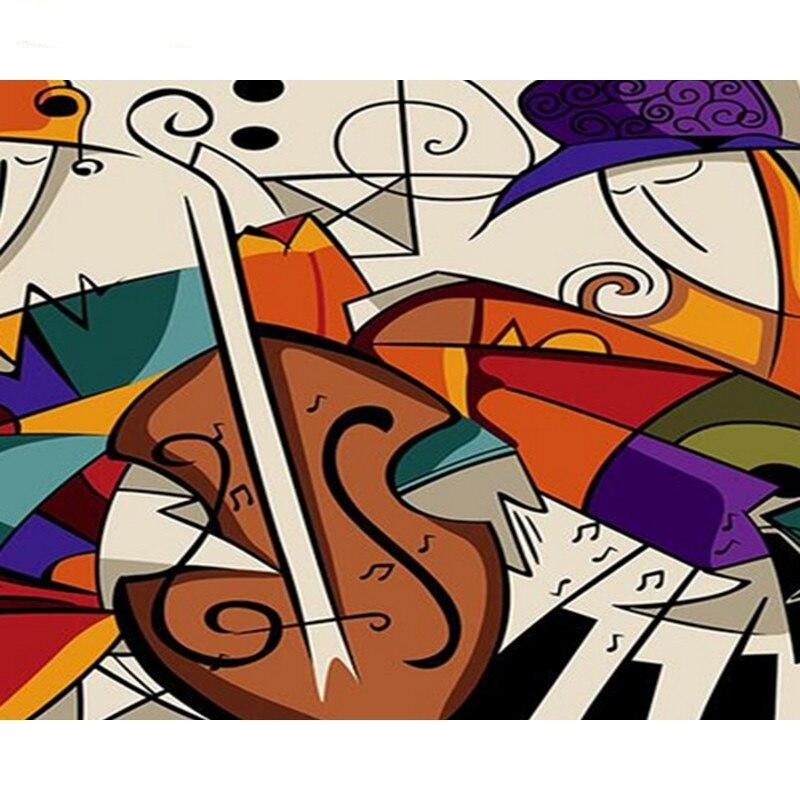 Abstract Musician- Paint By Number Kit