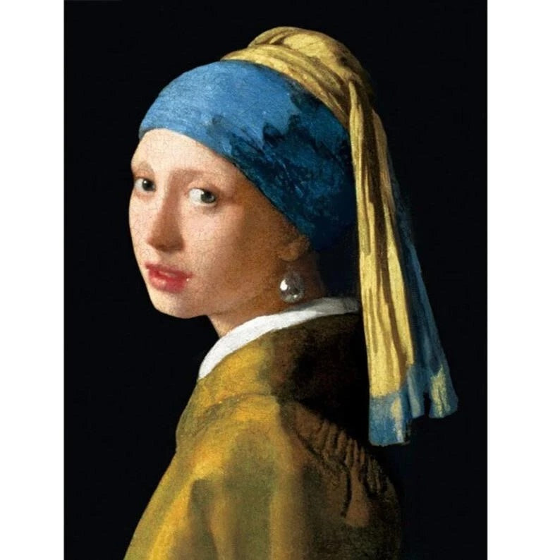 Girl With A Pearl Earring Diamond Painting Kit