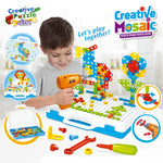 Drilling Screw 3D Creative Mosaic Puzzle Toy