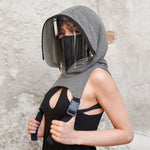 Protective Hooded Face Shield