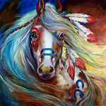 Horse Flair - Diamond Painting Kit
