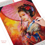 Elegant Geisha - Diamond Painting Kit