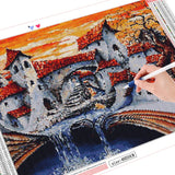 Melting Book House - Diamond Painting Kit