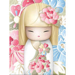 Snow Kimono Girl - Diamond Painting Kit