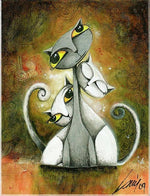 Merging Cats- Diamond Painting Kit