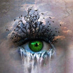 Green Eyes - Diamond Painting Kit