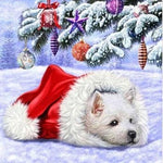 Resting Dog - Diamond Painting Kit
