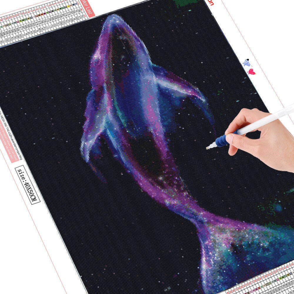 Whale Shadow - Diamond Painting Kit