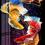 Sparkling Fishes - Diamond Painting Kit
