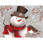Snowman - Diamond Painting Kit