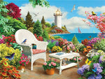 Garden Chair - Diamond Painting Kit