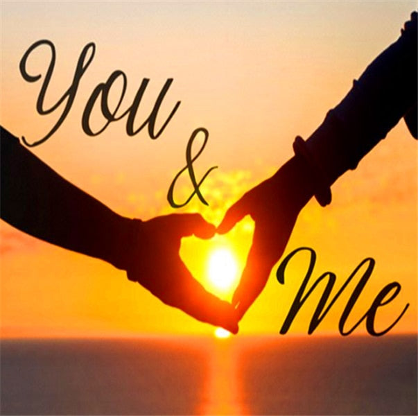 You & Me Love - Diamond Painting Kit