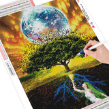 Tree Fantasy - Diamond Painting Kit