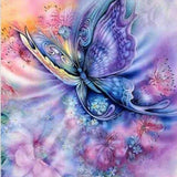 Dreamy Butterfly - Diamond Painting Kit