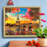 Eiffel Splendor - Diamond Painting Kit