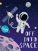 Off Into Space - Diamond Painting Kit