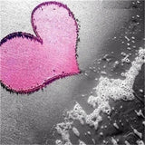 Pink Love - Diamond Painting Kit