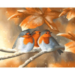 Golden Sparrows - Paint By Number Kit