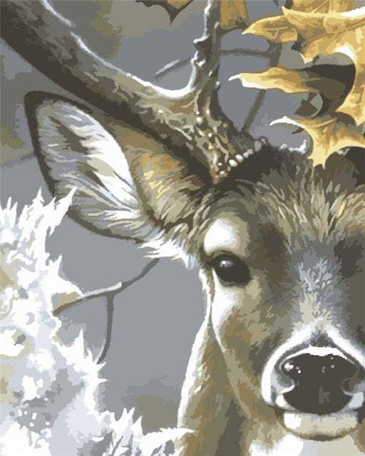 Deer Portrait - Paint By Number Kit