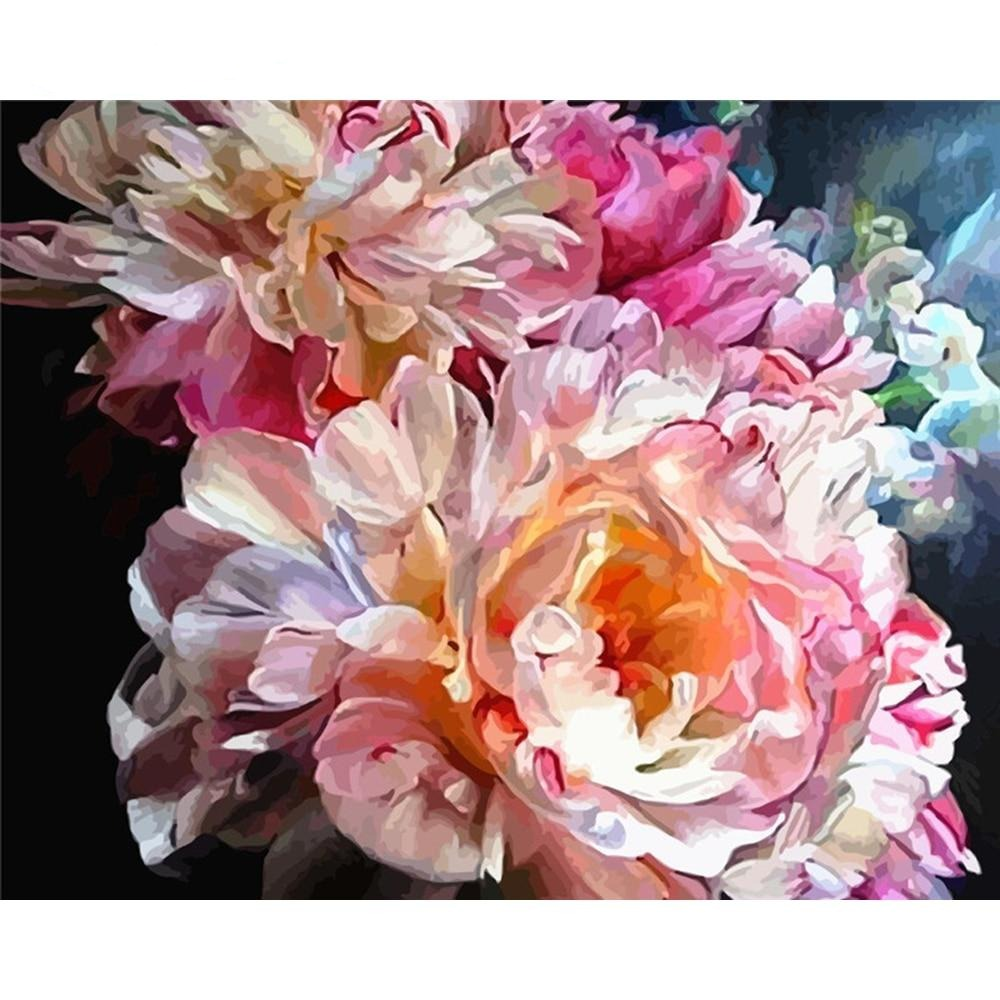 Splendid Flower - Paint By Number Kit