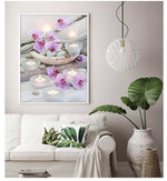 orchid stone diamond painting kit