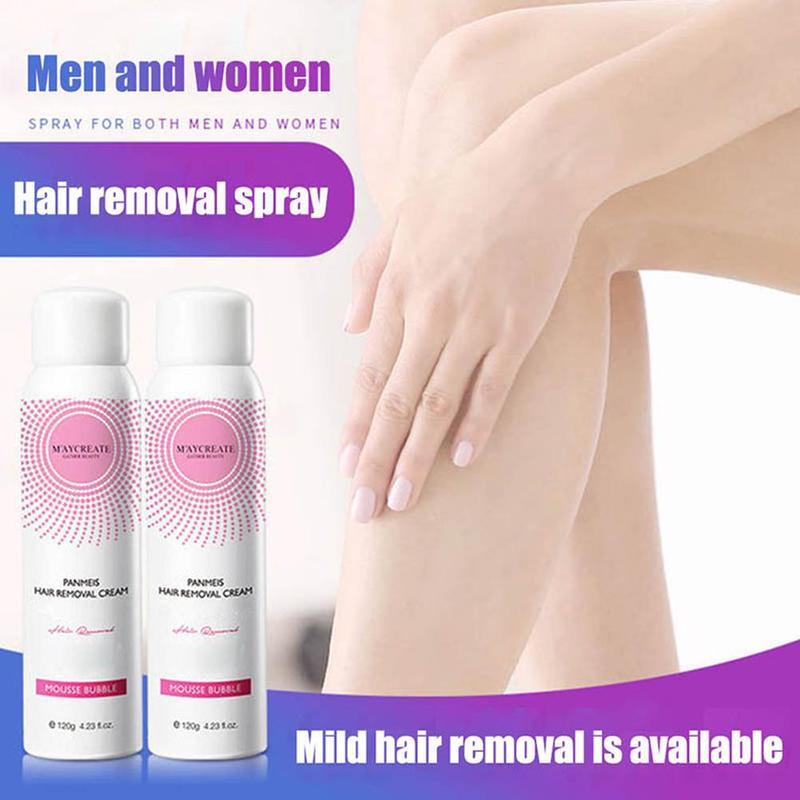 Natural & Painless Hair Removal Mousse Spray