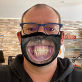 Funny Reusable Face Mask