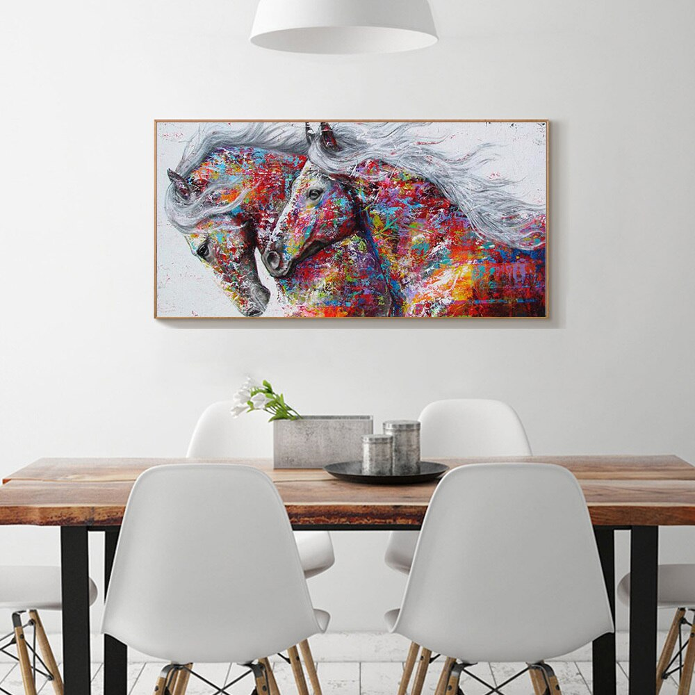 Horse Pair - Diamond Painting Kit