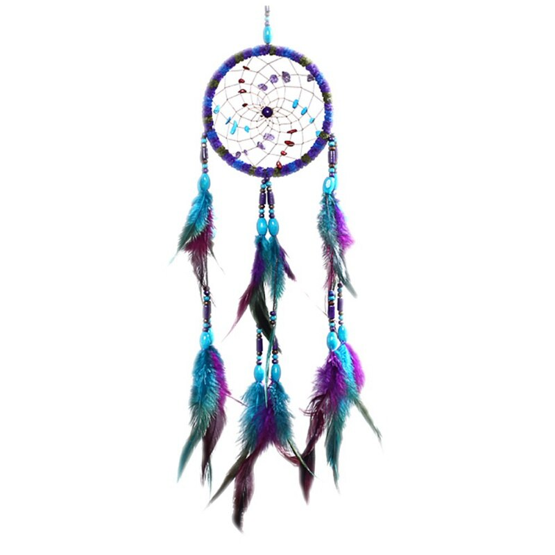 Wolf Pattern Indian Dream Catcher