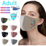 Embroidery Mouth Mask