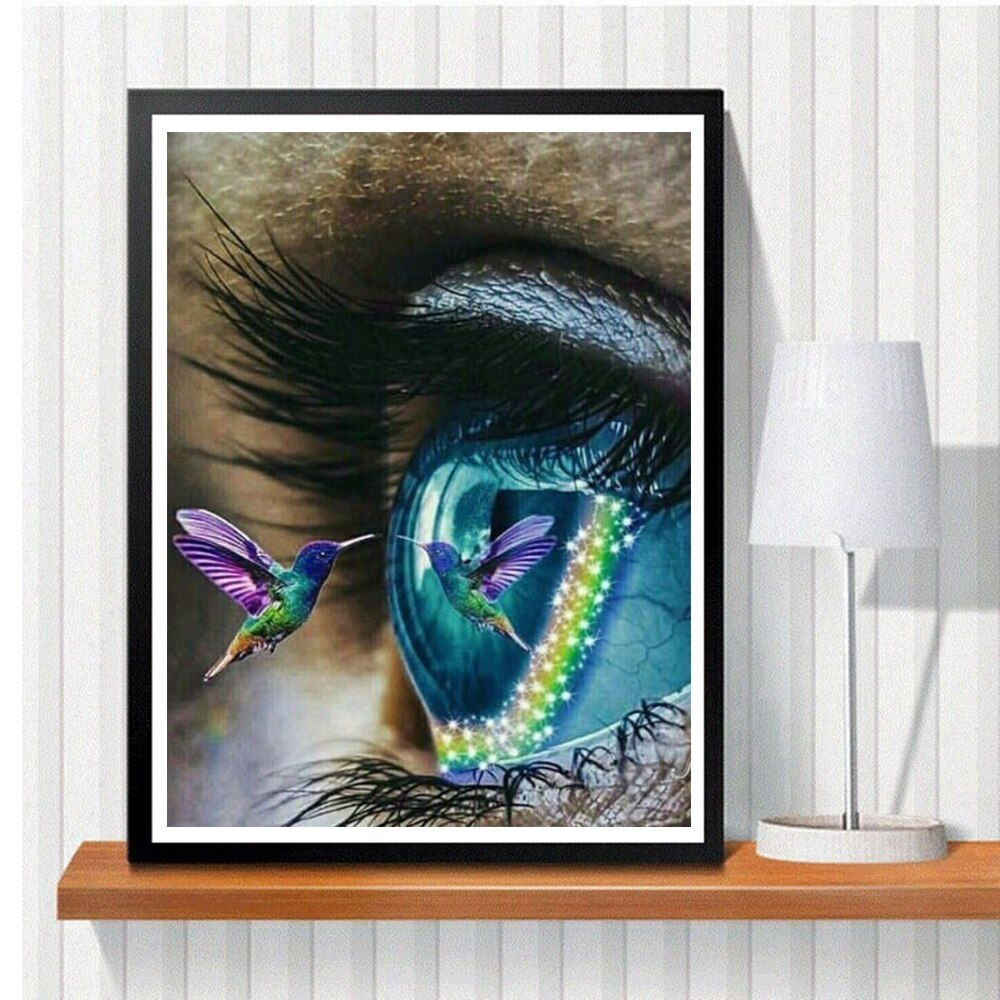 Eye Bird - Diamond Painting Kit