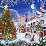 Christmas Village - Diamond Painting Kit