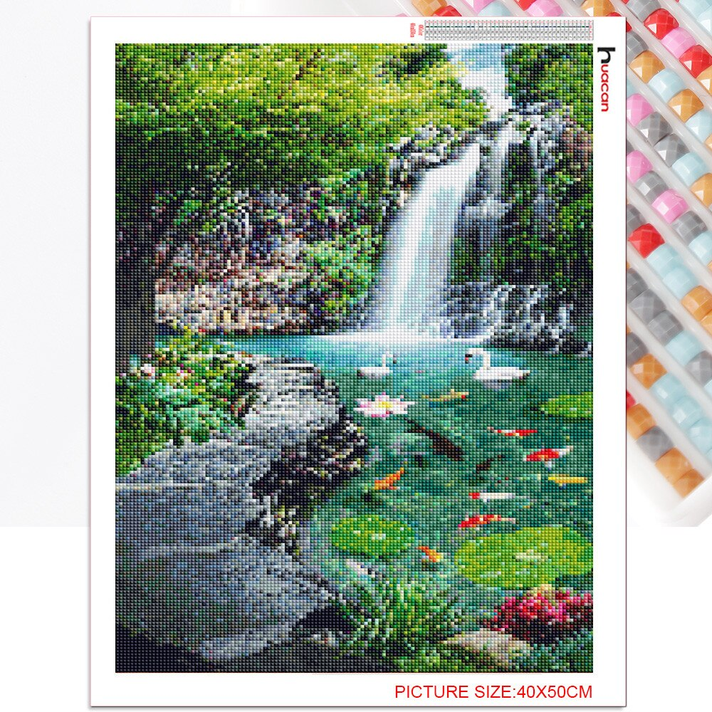 Splendor Waterfall - Diamond Painting Kit