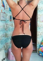 Lace Cutout One Piece Swimsuit